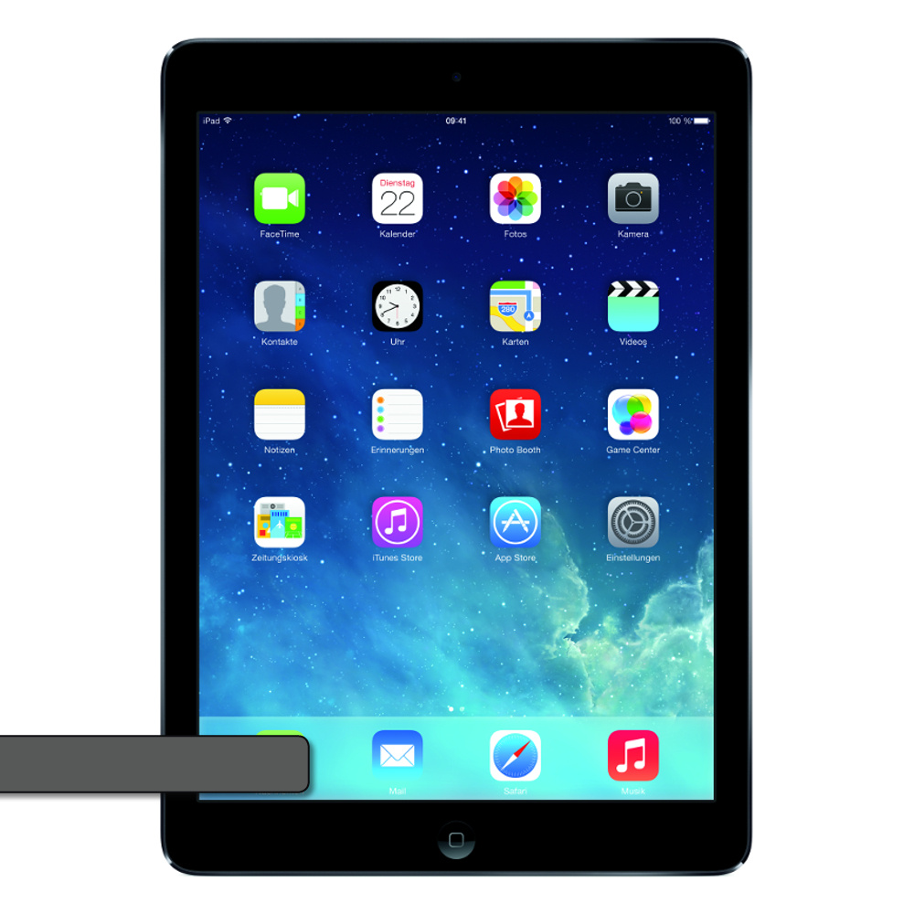 ipad air version 16gb wifi umts space gray. Black Bedroom Furniture Sets. Home Design Ideas