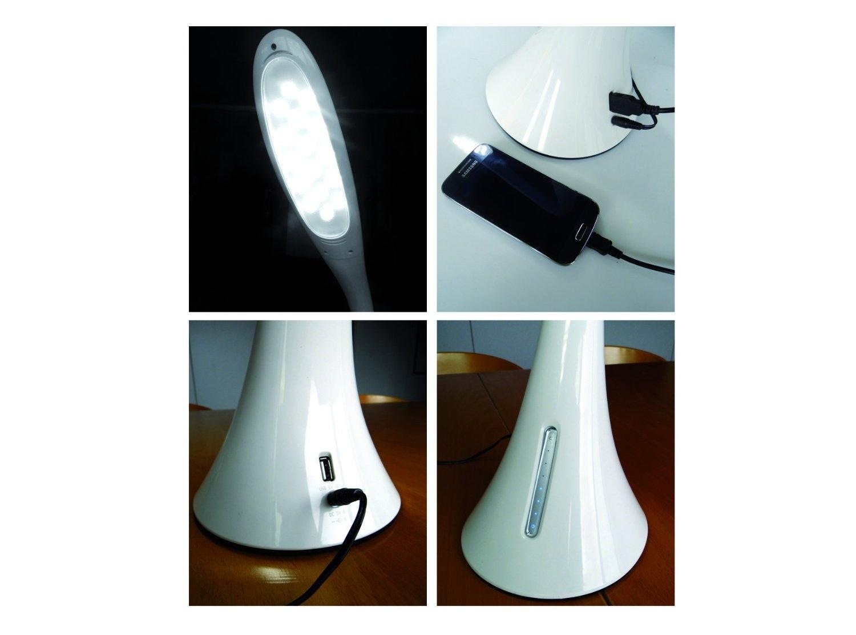led schwanenhals schreibtischlampe mit usb ladeport pepperweber it service kommunikation. Black Bedroom Furniture Sets. Home Design Ideas