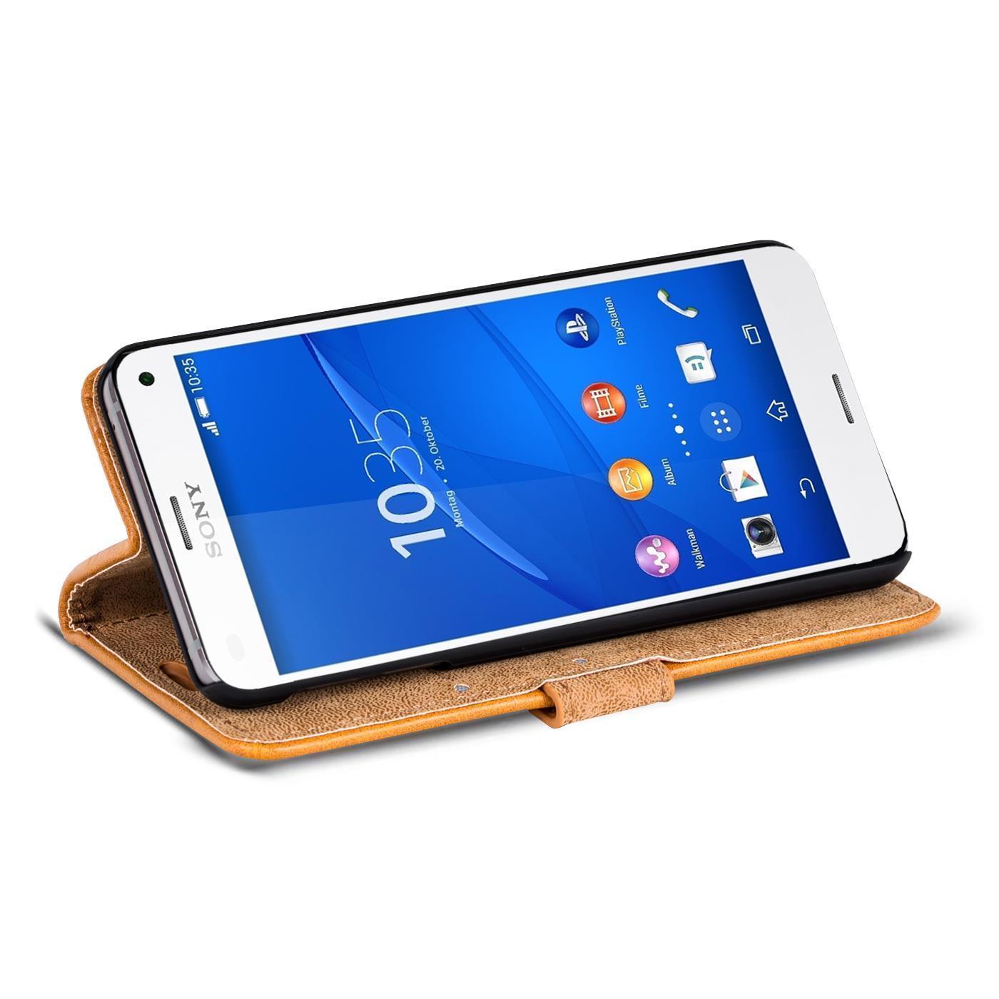 Retro Wallet Sony Xperia Z3 pact von Safers