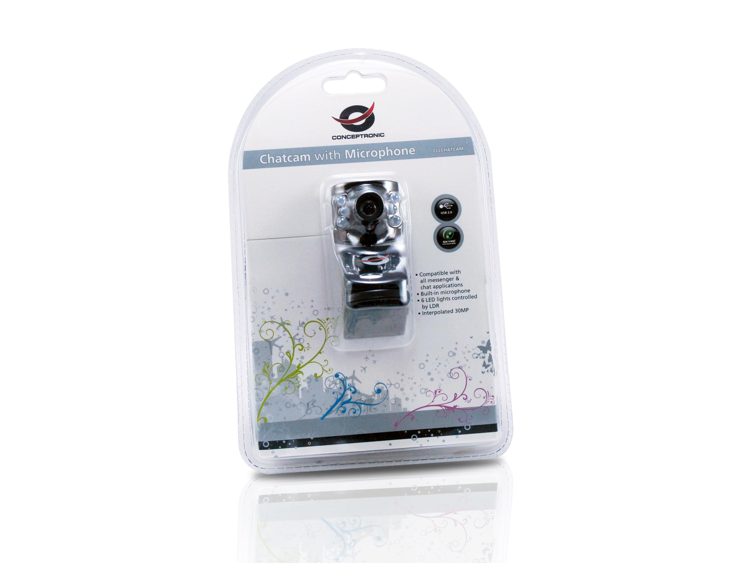 Conceptronic CLLCHATCAM V3 Webcam Driver for Windows