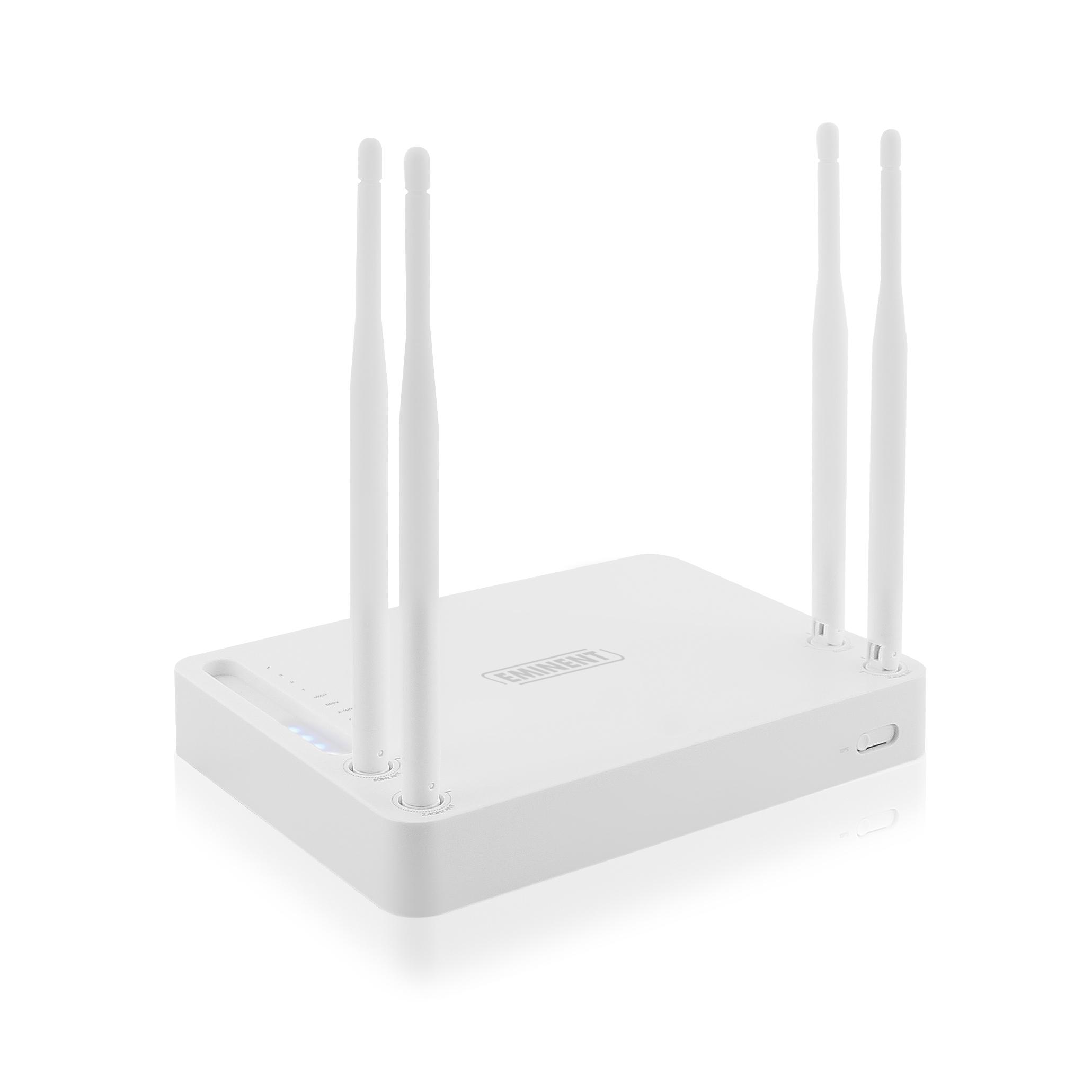 EM4510 Dual-Band (2,4 GHz/5 GHz) Schnelles Ethernet WLAN-Router ...