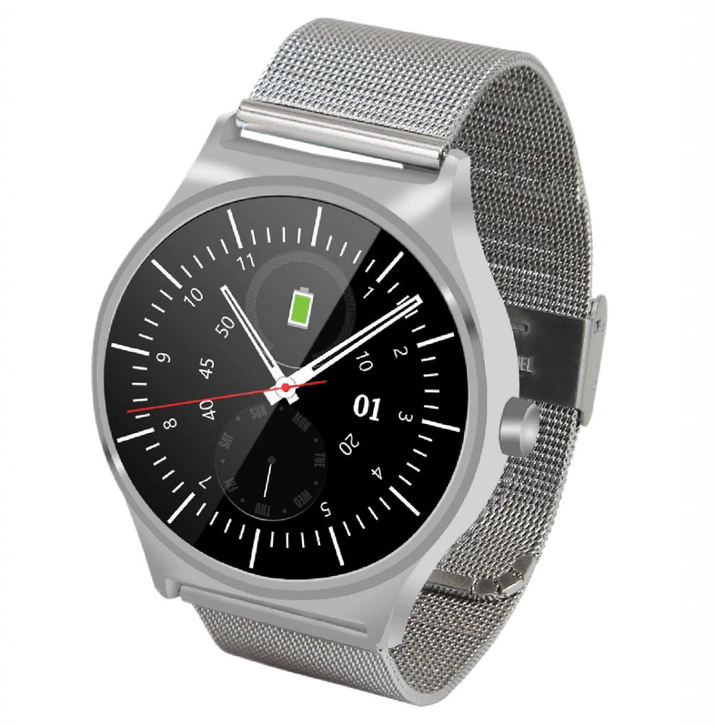 Silberfarbig Fitness Watch Elegance Smartwatch Goclever Fit TlcFK1J