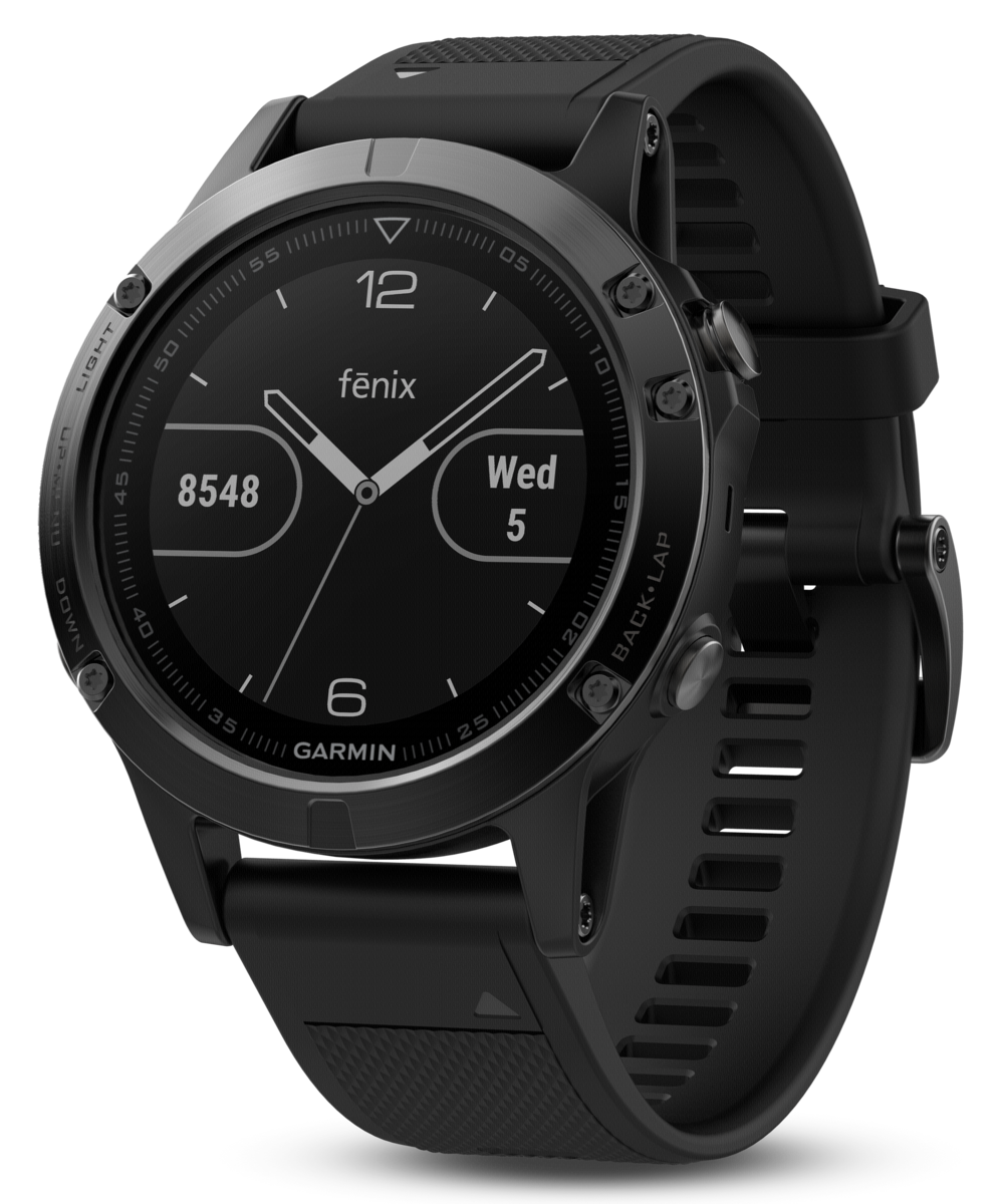 Garmin Armband (Für Fenix 5 Sapphire) Schwarz | World of System